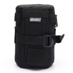 EIRMAI EMB-L2070 SLR thickening shockproof crash proof waist pack lens bag lens case-Black