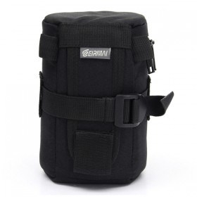 EIRMAI EMB-L2050 SLR thickening shockproof crash proof waist pack lens bag lens case-Black