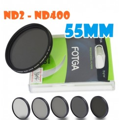 Fotga 55mm ND2 to ND400 slim fader ND filter adjustable variable neutral density