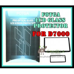 FOTGA Clear Optical Glass Mirror LCD Screen Protector for Nikon D7000