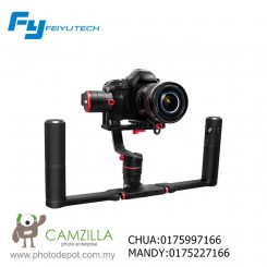 FEIYU A2000 GIMBAL KIT DUAL HANDLES FOR DSLR AND MIRROLESS CAMERAS