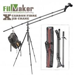 FilmMaker Carbon Fibre X JIB CRANE Portable Mini Carbon Camera Crane Jibs Jib Arm Carbon Fibre 2m extention