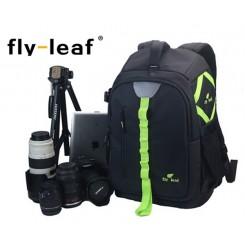 Fly Leaf FL-327 # Pro Camera / Laptop Backpack - Green