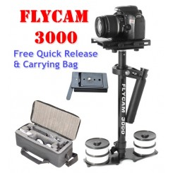 Flycam 3000 Stabilizer With Free Quick Release & Carrying Bag