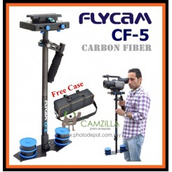 Flycam CF5 carbon fiber video stabilizer With Free Quick Release & CF-5 Carrying Bag