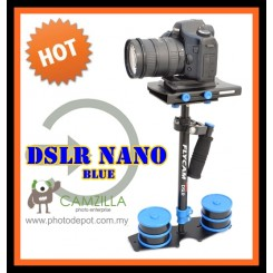 DSLR Flycam Nano (Blue Color) with Quick Release Steadicam