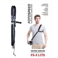 Foto Speed New 2014 FS-3 LITE DSLR Camera Sling Shoulder Strap