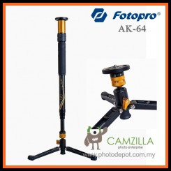 Fotopro AK-64 Quick Extend Video Photo Camera DSLR Camcorder Monopod