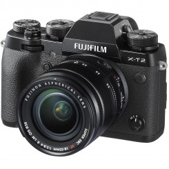 FUJIFILM X-T2 Mirrorless Digital Camera ( Black / Graphite Silver )