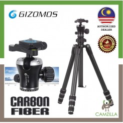 GIZOMOS GP-26C4 PROFESSIONAL CARBON TRIPOD WITH PRO BALL HEAD