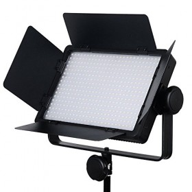 Godox LED-500C Discolour Version 32W Dimple Video Light Lamp Panel with Remote Control for Canon Nikon Pentax DSLR Camera Video Camcorder