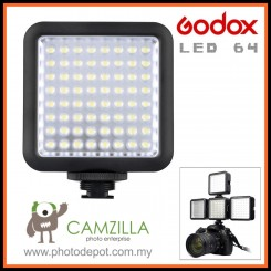 Godox LED 64 Video Lamp Light Led Video Light for DSLR Camera Camcorder mini DVR with high quality