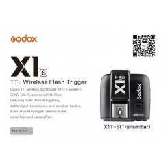 Godox X1T-S 2.4GHz i-TTL Wireless Transmitter Trigger For SONY