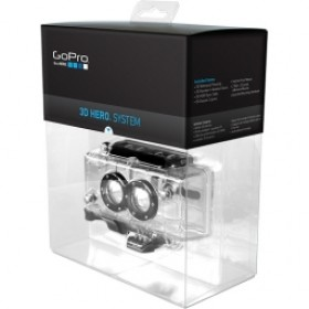 GoPro 3D HERO System Waterproof Housing & 3D Synchronization System for Dual HD HERO Cameras