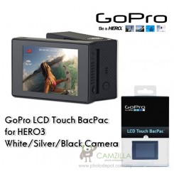 Brand New GoPro LCD Touch BacPac for HERO3 White/Silver/Black Camera