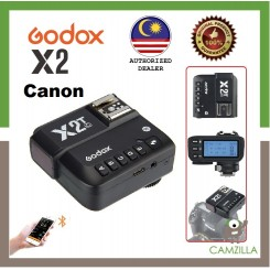Godox X2 / X2T 2.4 GHz TTL Wireless Flash Trigger for Canon (Ship from Malaysia)
