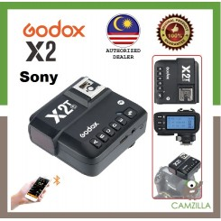 Godox X2 / X2T 2.4 GHz TTL Wireless Flash Trigger for Sony  (Ship from Malaysia)