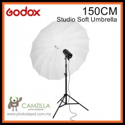 "Godox Translucent 60"" 150cm Size Soft Umbrella Shoot Through Lighting"