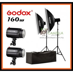 GODOX 2x 160w Photography Studio Strobe 160ws Photo Flash Light