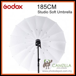 "Godox UB-L2 Translucent 75"" 185cm Size Soft Umbrella Shoot Through Lighting"