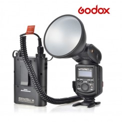 Godox Witstro AD-180 Bare Tube Flash Speedlite PB960 Battery Power Pack Black