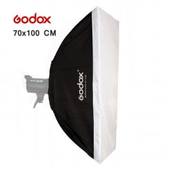 Godox 70cm x 100cm Speedlite Studio Strobe Flash Photo Reflective Softbox Soft Box Diffuser