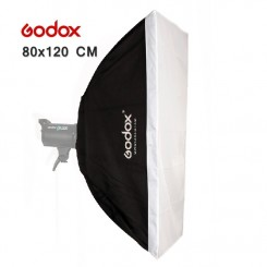 Godox 80cm x 120cm Speedlite Studio Strobe Flash Photo Reflective Softbox Soft Box Diffuser