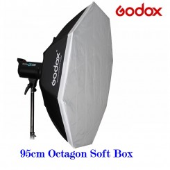GODOX 95 cm Octagonal Softbox for Studio Light - Bowens Mount