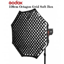 GODOX 120 cm Octagonal Softbox & Honeycomb Grid - Bowens Mount