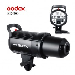 Godox SK-300 300W Photography Photo Studio Strobe Flash Lighting Head With Bulb