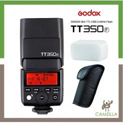 Godox Mini TT350 HSS 1/8000s Flash TTL Speedlite For Fujifilm x-pro2, x-t20, x-t2, X-T1, X-Pro1, x-t10, X-E1, x-a3, x100 F, X100T