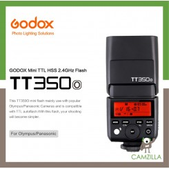 Godox Mini Thinklite TTL TT350O Camera Flash High Speed 1-8000s GN36 For Olympus & Panasonic