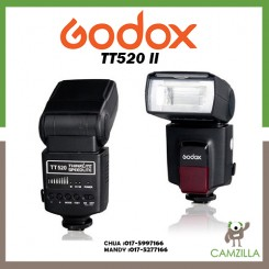 Godox TT520 II Universal Hot Shoe Flash Speedlite For DSLR Cameras Canon Nikon Pentax Olympus