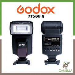 Godox TT560II GN38 Speedlite Flash Light for All Standard Hot Shoe Camera
