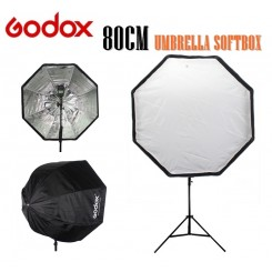 Godox Photo 80cm Octagon Umbrella Softbox Brolly Reflector for Photography Studio Flash Speedlite