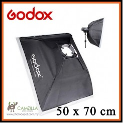 "Godox 20""x27"" / 50x70cm Photo Studio Softbox Soft Box with Universal Mount for Studio Flash Strobe"