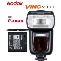 Godox V860C Ving E-TTL Li-ion Battery Powered Camera Flash Speedlight Speedlite for Canon (Battery & Charger Included)