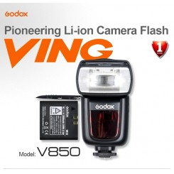 Godox Lithium-ion Flash Light VING V850 Hi-speed SYNC 1/8000s for Canon Nikon
