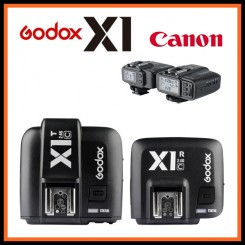 GODOX X1C TTL 1/8000s HSS 32 Channels 2.4G Wireless LCD Flash Strobe Trigger Transmitter Receiver Camera Shutter Release for Canon EOS Cameras Godox TT685C Speedlite