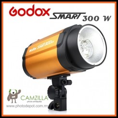 Godox Smart 300 300W Photography Photo Studio Strobe Flash Lighting Head With Bulb
