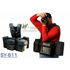 Godspeed SY-611 Functional and Portable Camera Bag SY-611 Shoulder Bag and Backpack