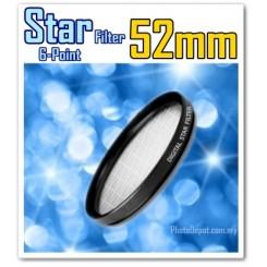 52MM ORIGINAL GREEN.L STAR 6 LENS FILTER