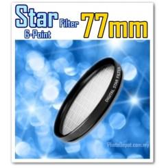 77MM ORIGINAL GREEN.L STAR 6 LENS FILTER