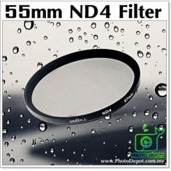 55mm Original Green.L ND4 Lens Filter