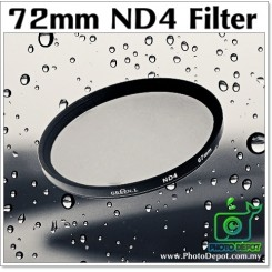 72mm Original Green.L ND4 Lens Filter