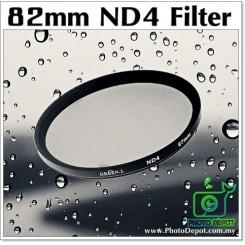 82mm Original Green.L ND4 Lens Filter