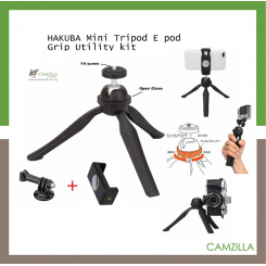 HAKUBA Mini Tripod E pod Grip Utility kit