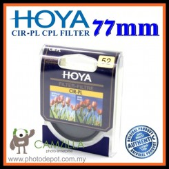 100% Genuine 77MM HOYA Circular Polarizer (CPL) FILTER