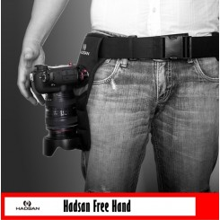 Hadsan Free Hand Quick Release Clip with Waist Belt for DSLR Cameras
