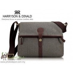 Harryson & Dinald 512R5 Vintage Camera Bag , sling bag For Digital Camera, , Dslr